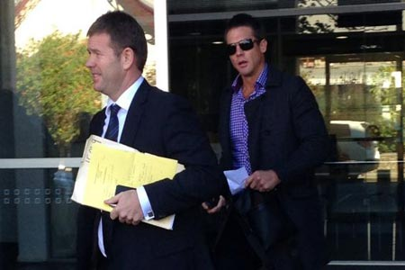 Ben Cousins back in Perth court