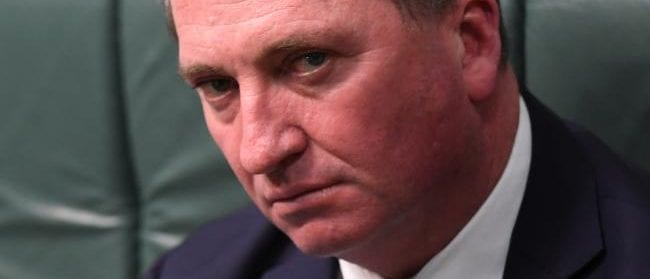 barnaby joyce - workplace relationships